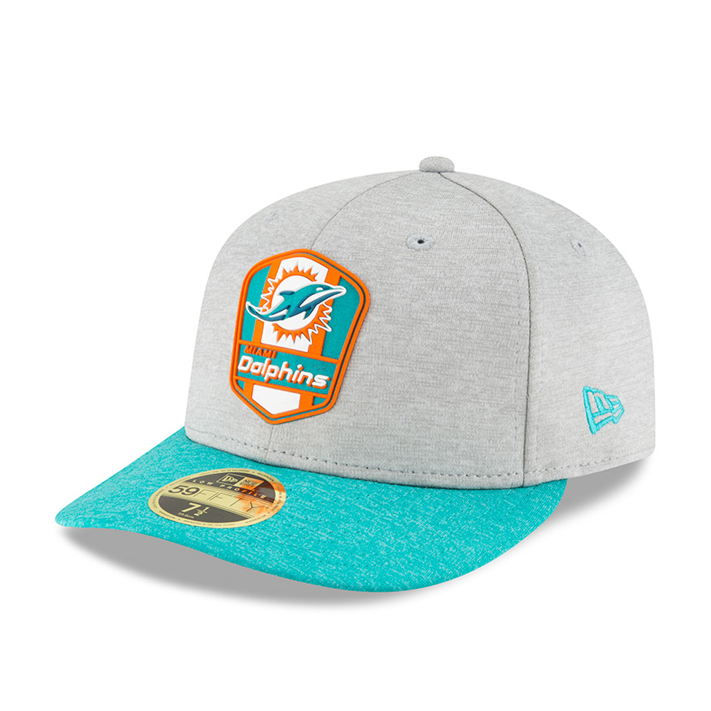 Miami Dolphins 2018 Sideline Away Low Profile 59FIFTY