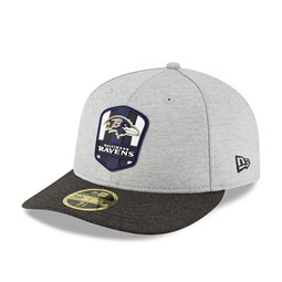 59FIFTY – Baltimore Ravens 2018 Sideline Away Low Profile