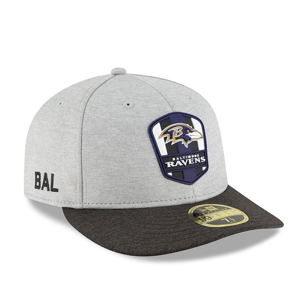 ... Baltimore Ravens 2018 Sideline Away Low Profile 59FIFTY 082e1705de10