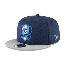 53ca23858 Tennessee Titans 2018 Sideline Away 9FIFTY Snapback