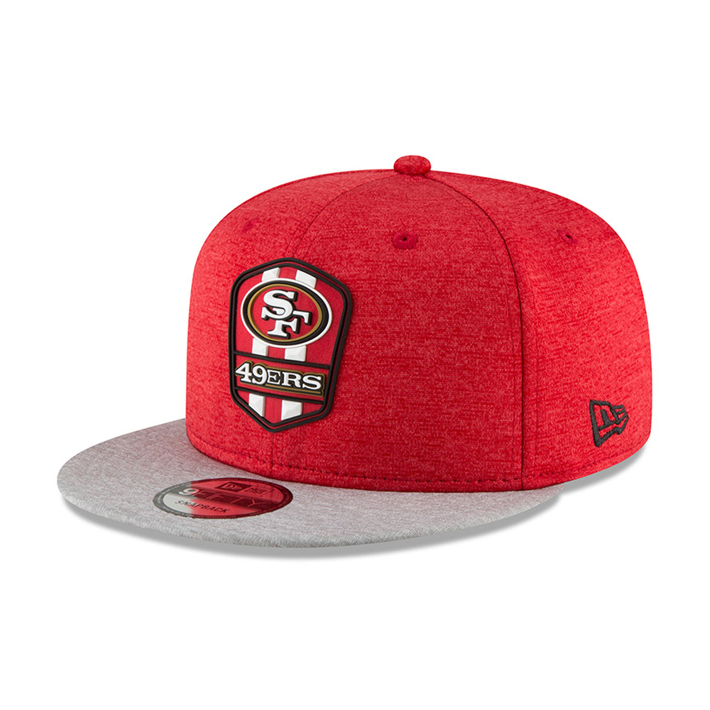 San Francisco 49ers 2018 Sideline Away 9FIFTY Snapback