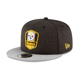 782288c3c Pittsburgh Steelers 2018 Sideline Away 9FIFTY Snapback