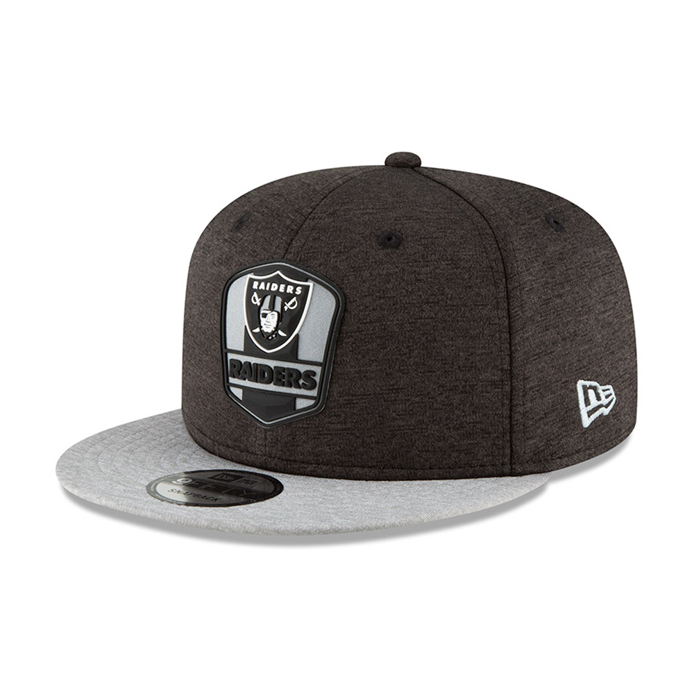Oakland Raiders 2018 Sideline Away 9FIFTY Snapback