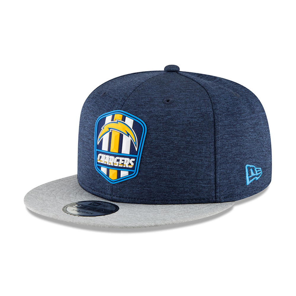 Los Angeles Chargers 2018 Sideline Away 9FIFTY Snapback 34fab55fbc77