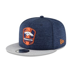 212702efbcf Denver Broncos 2018 Sideline Away 9FIFTY Snapback