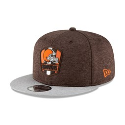 Cleveland Browns 2018 Sideline Away 9FIFTY Snapback