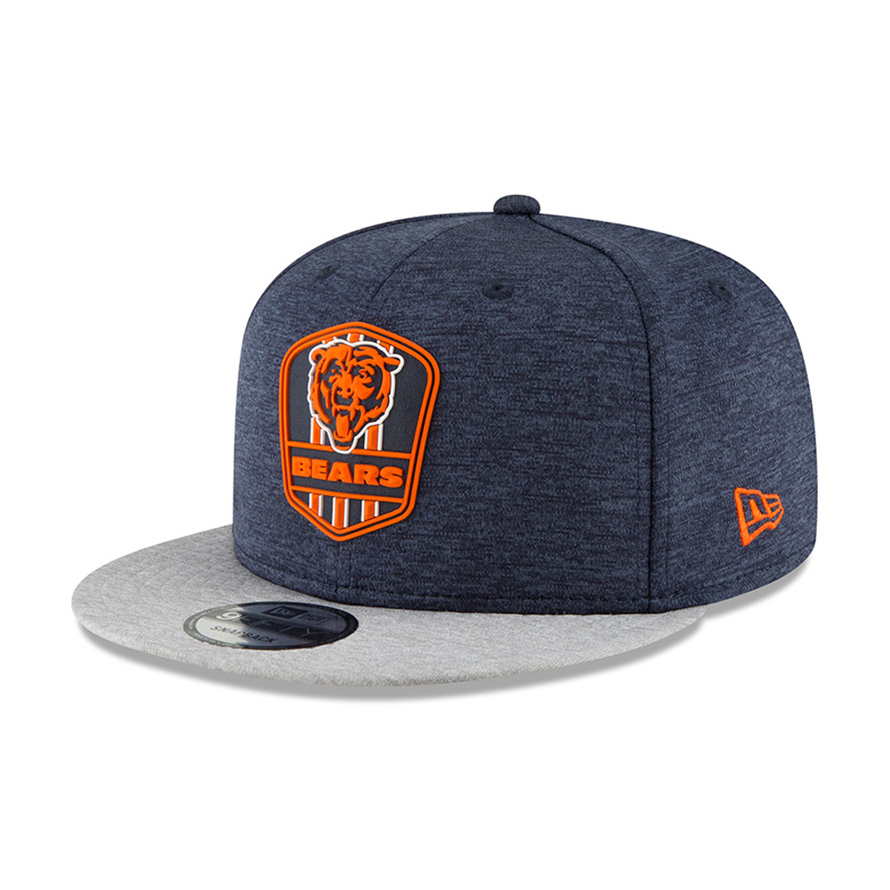 size 40 02074 36871 Chicago Bears 2018 Sideline Away 9FIFTY Snapback