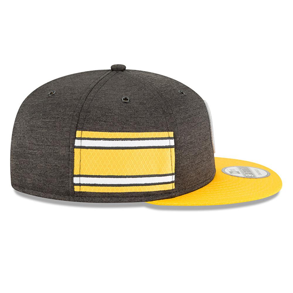 Pittsburgh Steelers 2018 Sideline Home 9FIFTY Snapback  89e28baf2