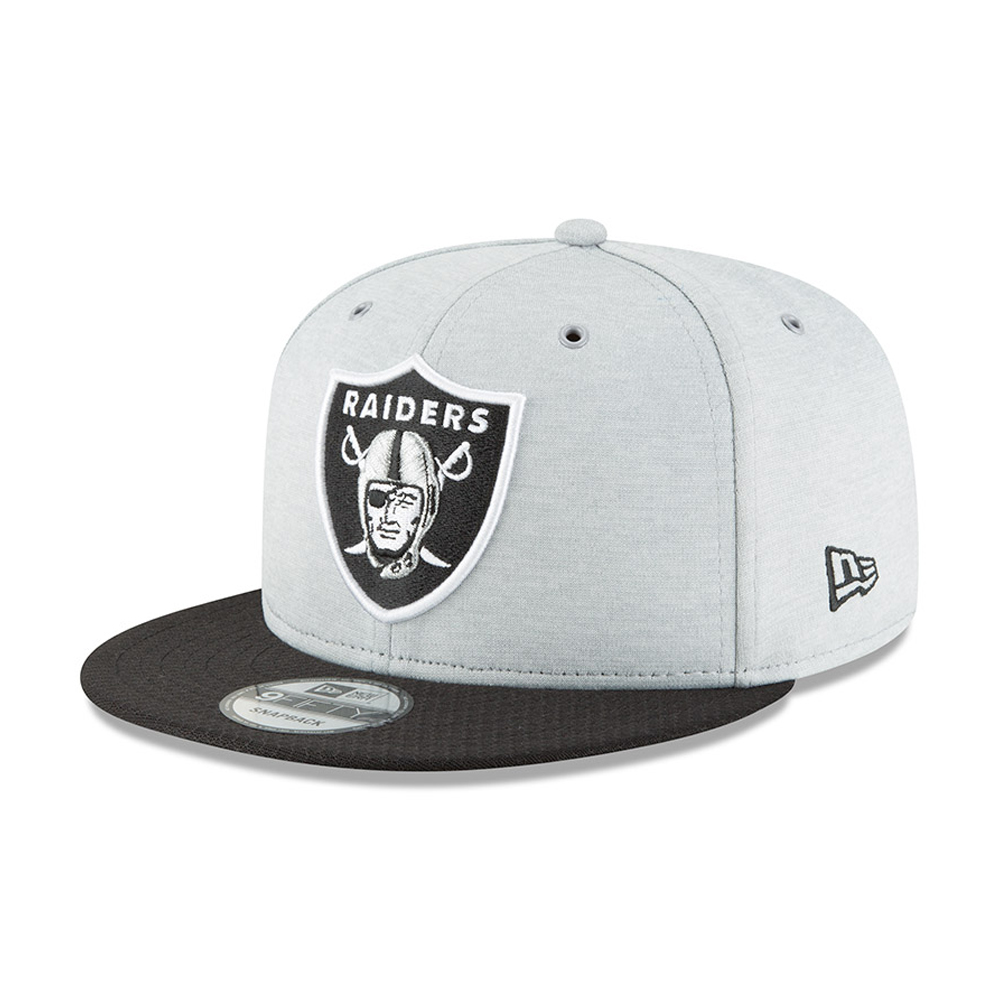 Oakland Raiders 2018 Sideline Home 9FIFTY Snapback