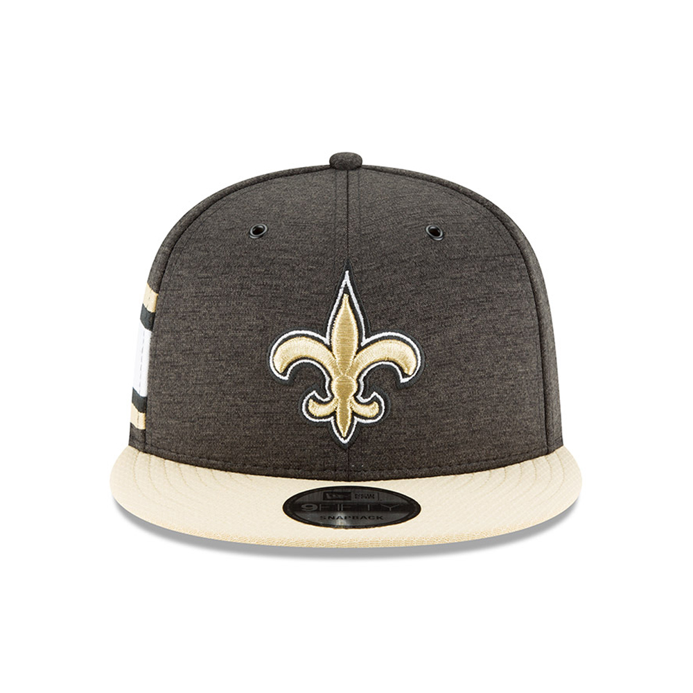New Orleans Saints 2018 Sideline Home 9FIFTY Snapback  746faca8ca9c