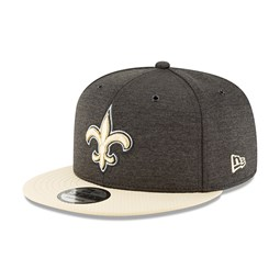 f0704add517b4 New Orleans Saints 2018 Sideline Home 9FIFTY Snapback