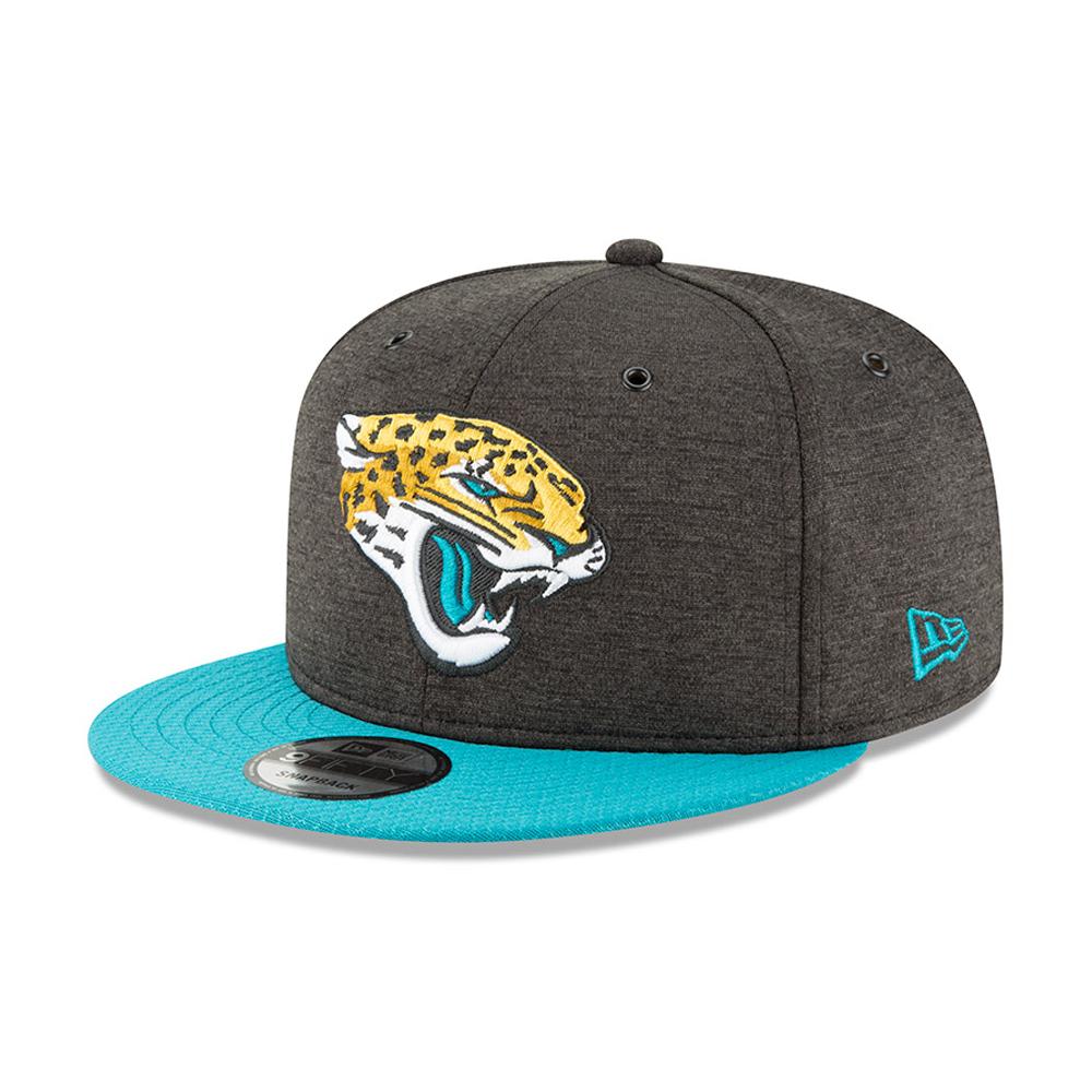 Jacksonville Jaguars 2018 Sideline Home 9FIFTY casquette avec languette de réglage crantée