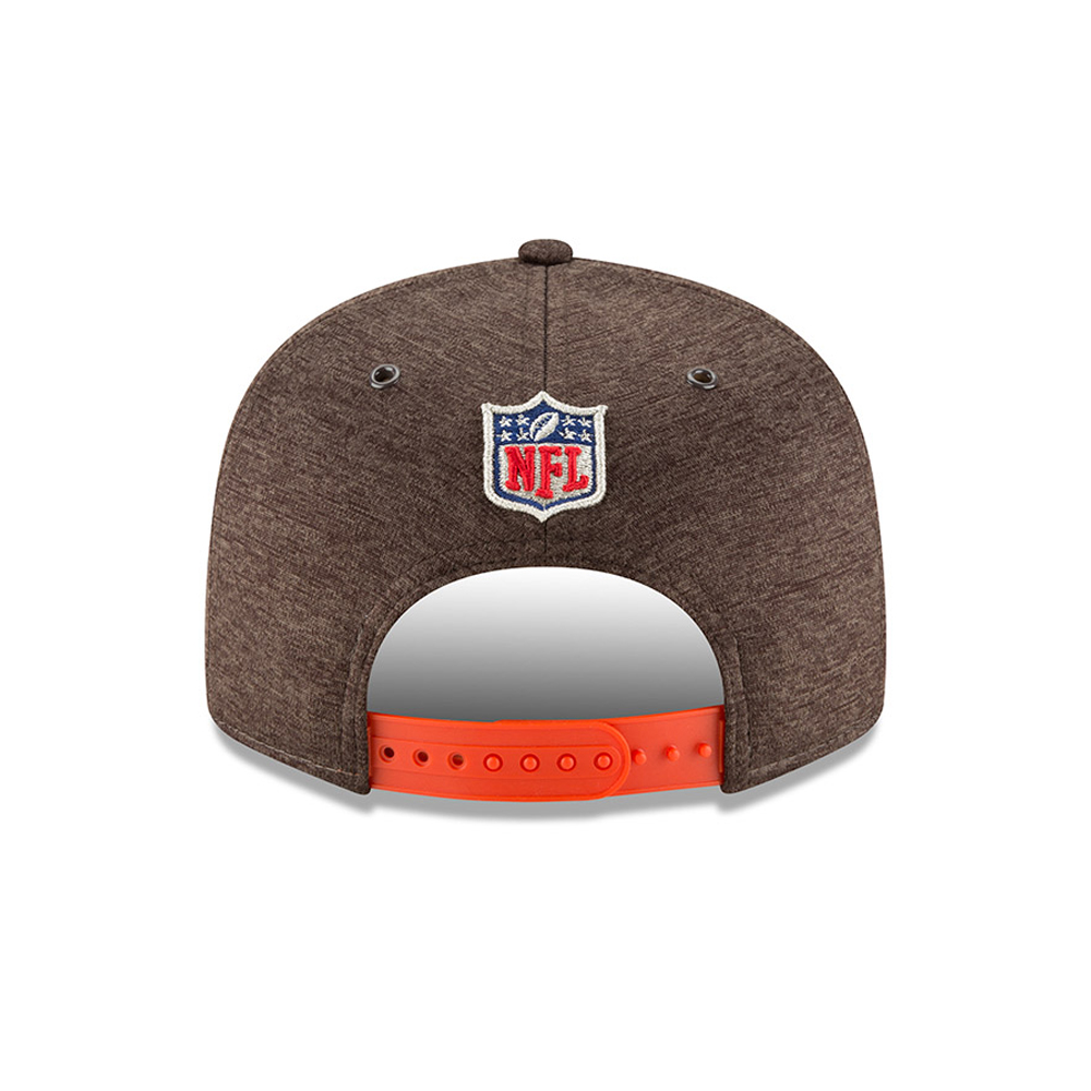 2ed7792f5 Cleveland Browns 2018 Sideline Home 9FIFTY Snapback