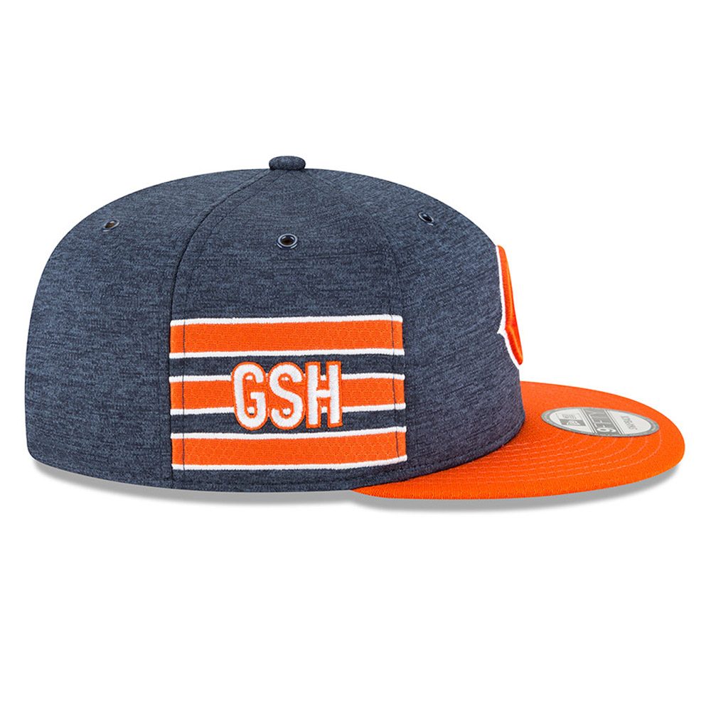 9FIFTY Snapback – Chicago Bears 2018 Sideline Home
