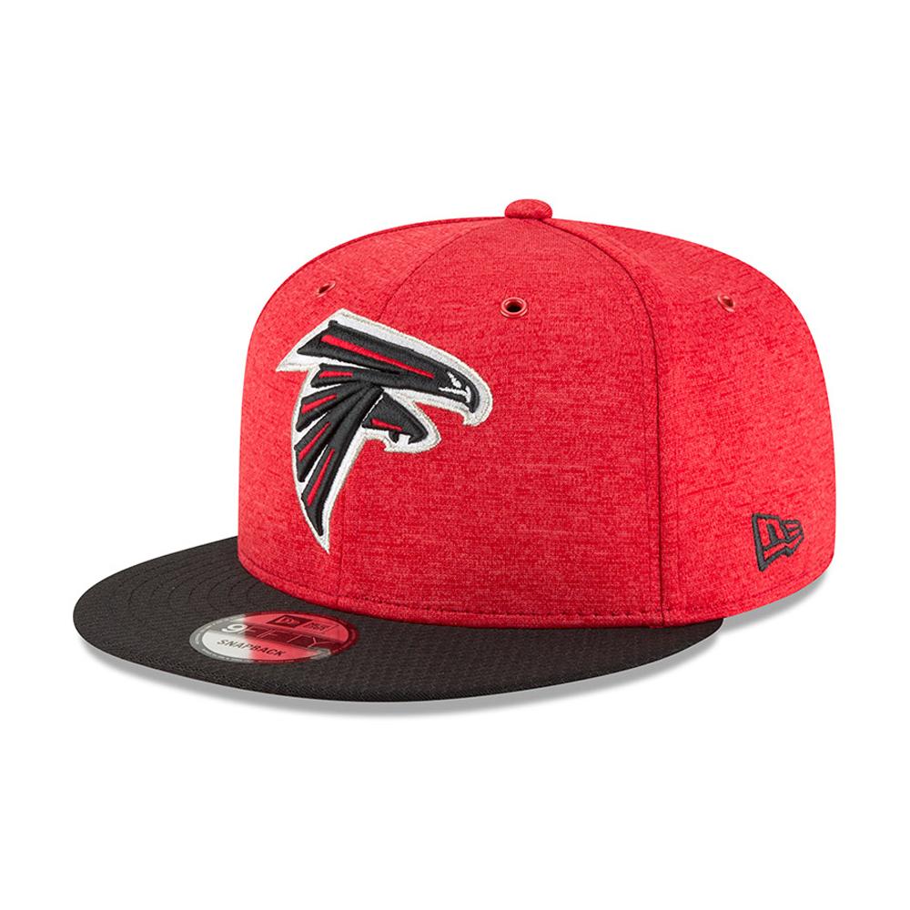 Atlanta Falcons 2018 Sideline Home 9FIFTY casquette avec languette de réglage crantée