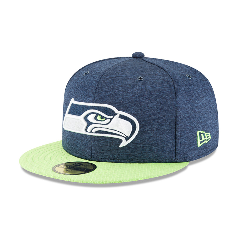 official photos e764d 64559 Seattle Seahawks 2018 Sideline 59FIFTY