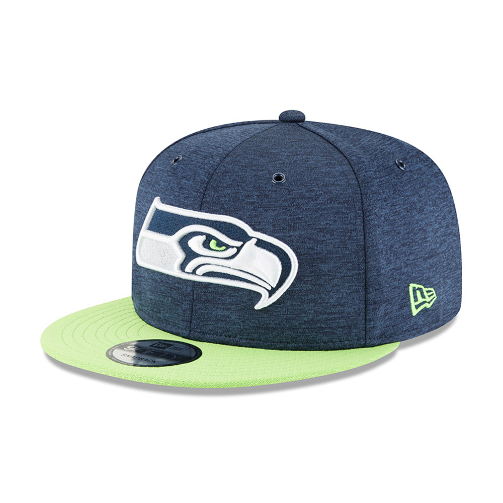 715bfeef Seattle Seahawks 2018 Sideline Home 9FIFTY Snapback