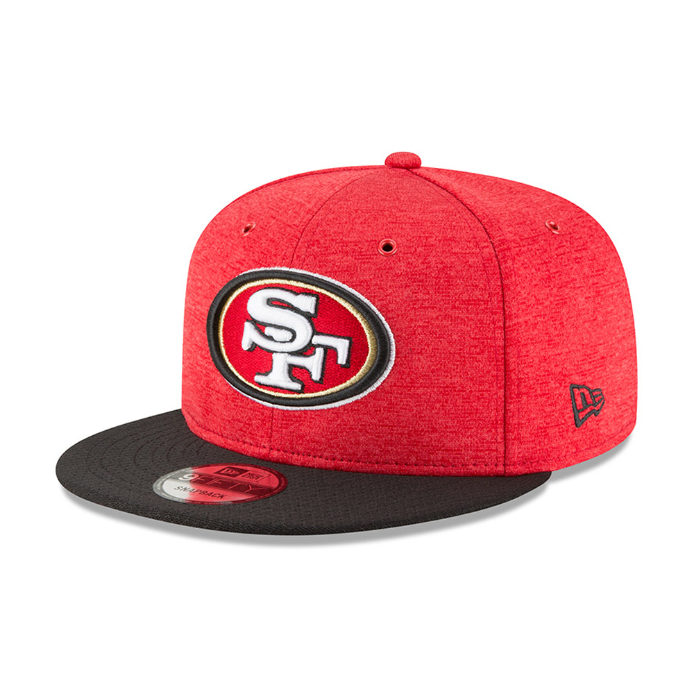 San Francisco 49ers 2018 Sideline Home 9FIFTY Snapback