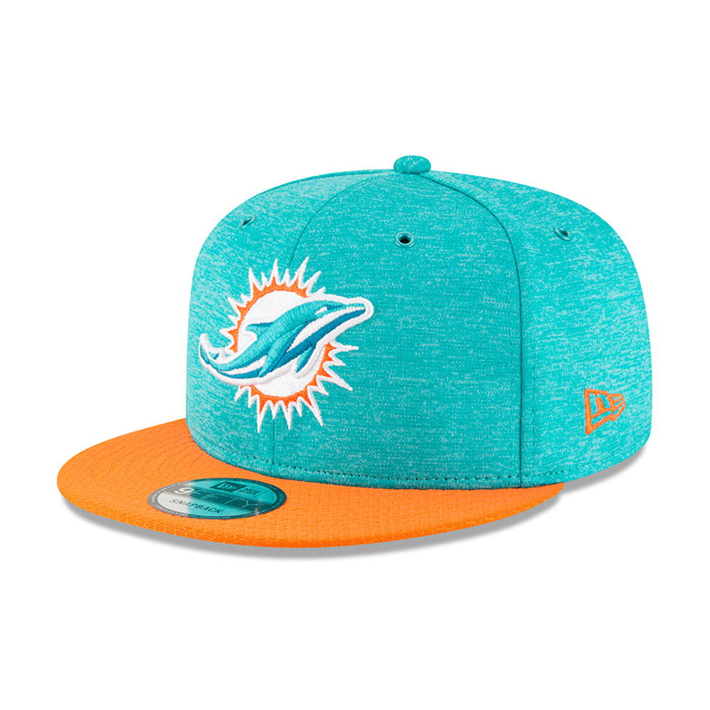 Miami Dolphins 2018 Sideline Home 9FIFTY Snapback