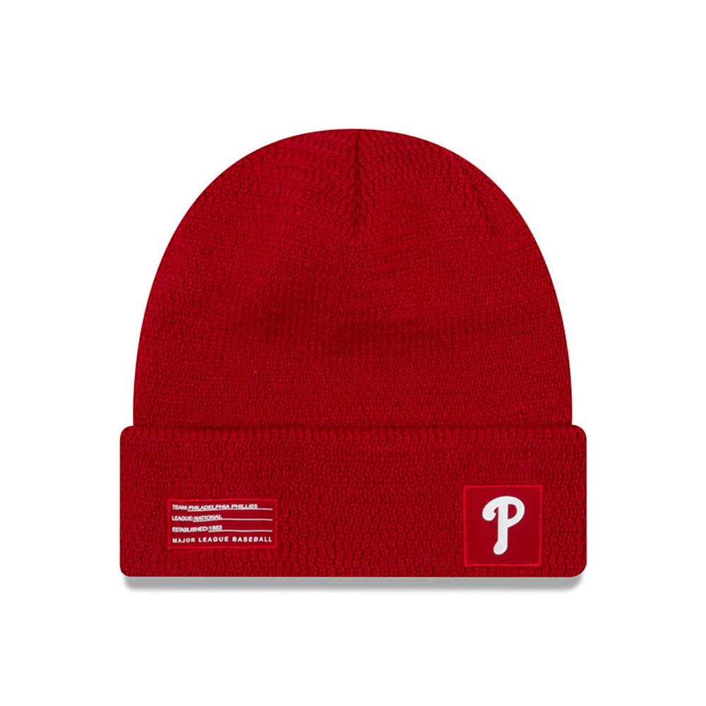 Philadelphia Phillies Authentic Collection Cuff Knit