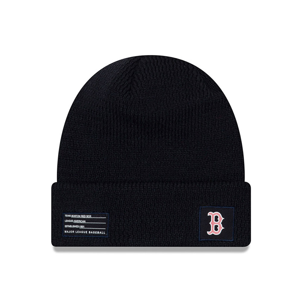 Boston Red Sox Authentic Collection Cuff Knit