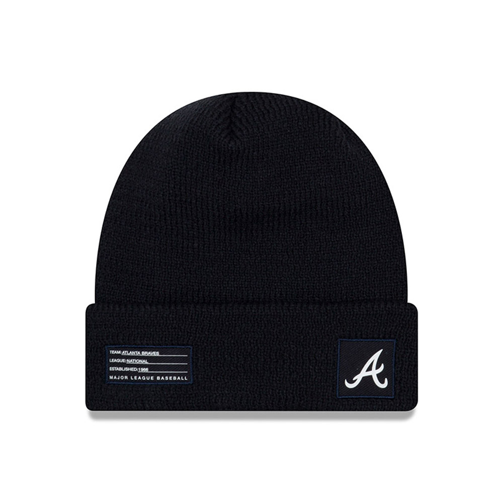 Atlanta Braves Authentic Collection Cuff Knit