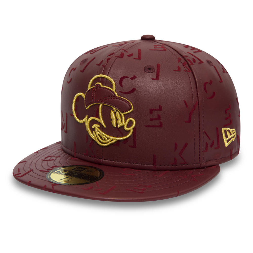 Mickey Mouse Lettered Leather 59FIFTY