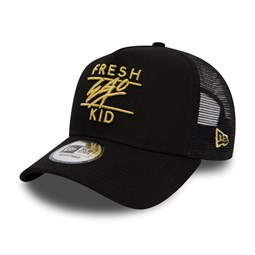 New Era Fresh Ego Kid Mesh Black A Frame Trucker