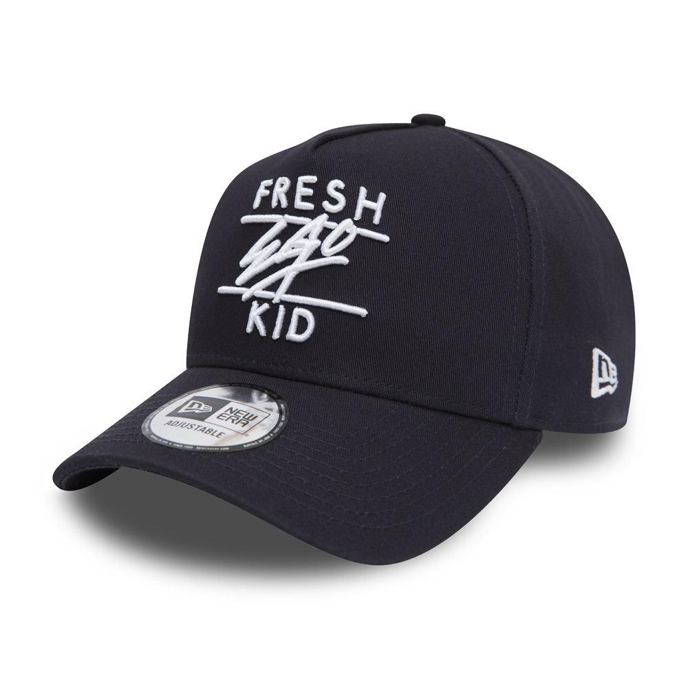 New Era Fresh Ego Kid Navy A Frame Trucker
