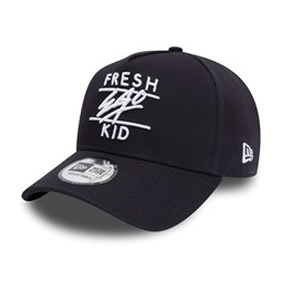Gorra trucker New Era Fresh Ego Kid A Frame, azul marino