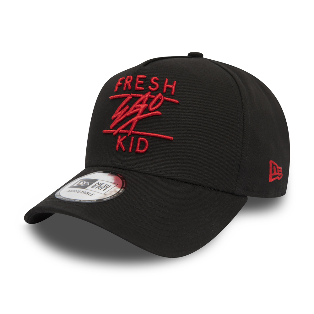 New Era Fresh Ego Kid Black A Frame Trucker