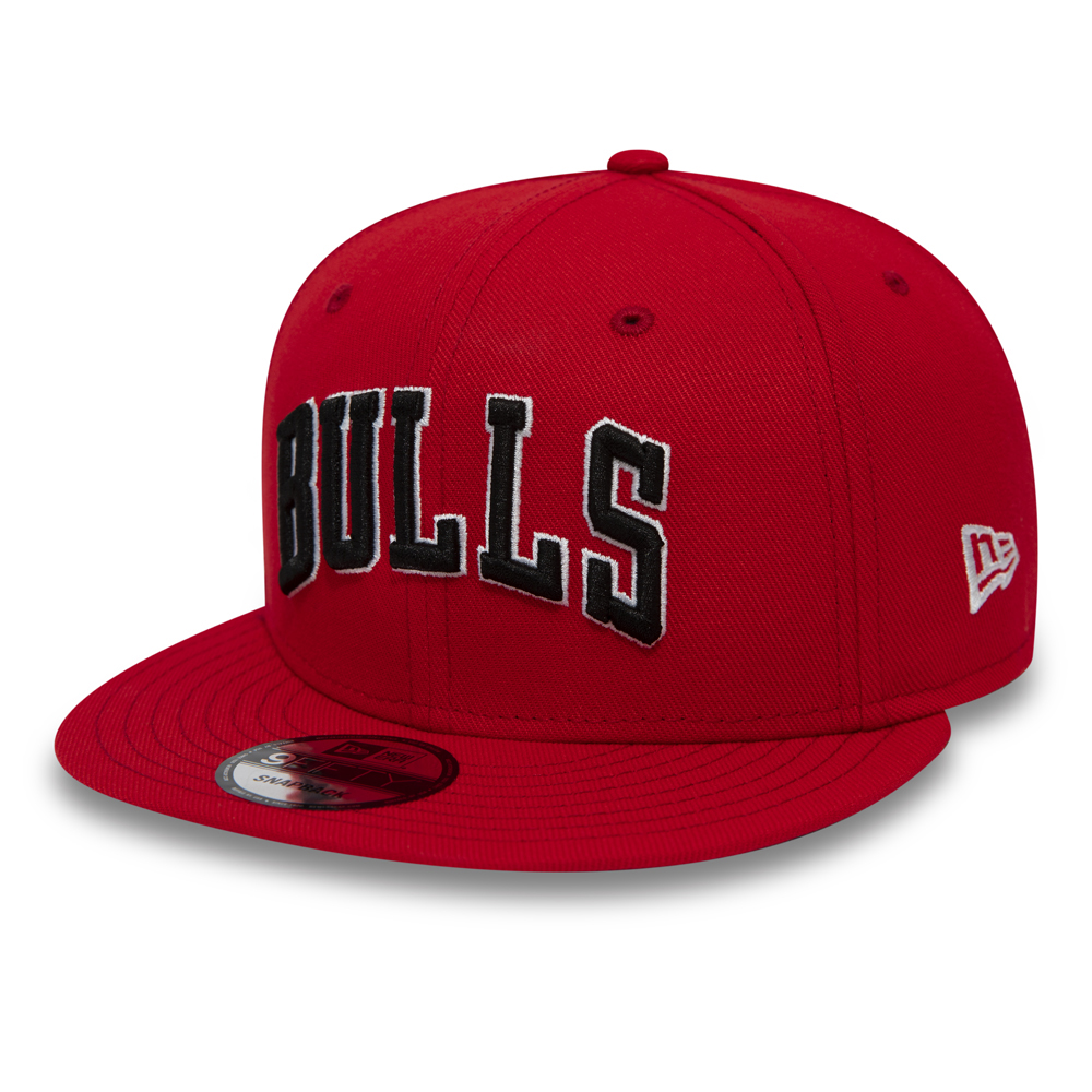 Chicago Bulls Wordmark 9FIFTY Snapback