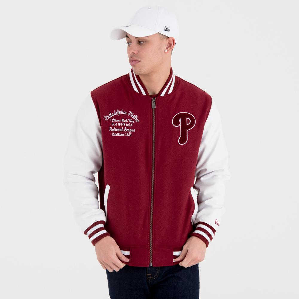 Philadelphia Phillies – University Club – Varsity-Jacke