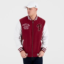Chaqueta varsity Philadelphia Phillies University Club