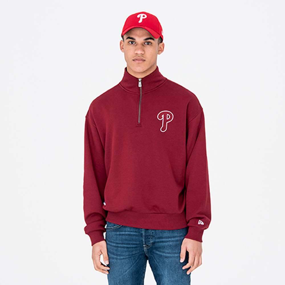 Philadelphia Phillies – University Club – Jacke mit Stehkragen