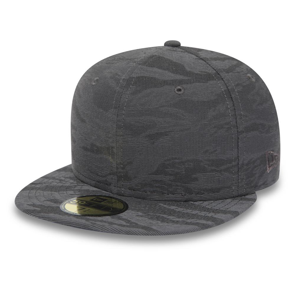 New Era – 59FIFTY – Grau mit 3D-Camouflage-Design