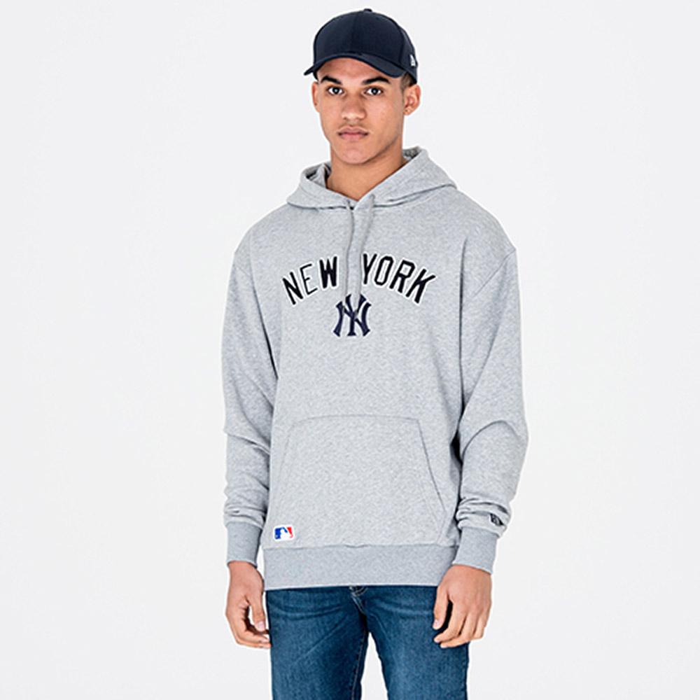 Felpa chiusa con cappuccio New York Yankees University Club 77163a999484