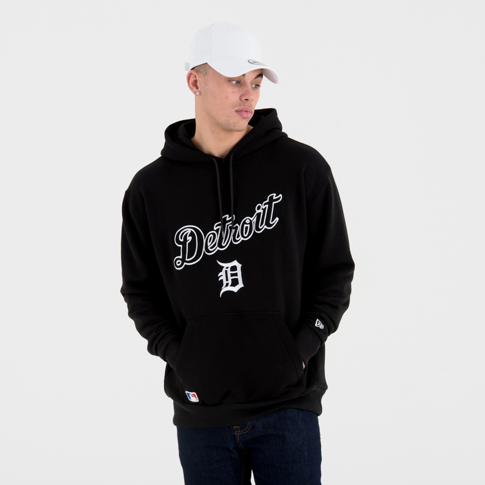 Detroit Tigers University Club Pullover Hoody