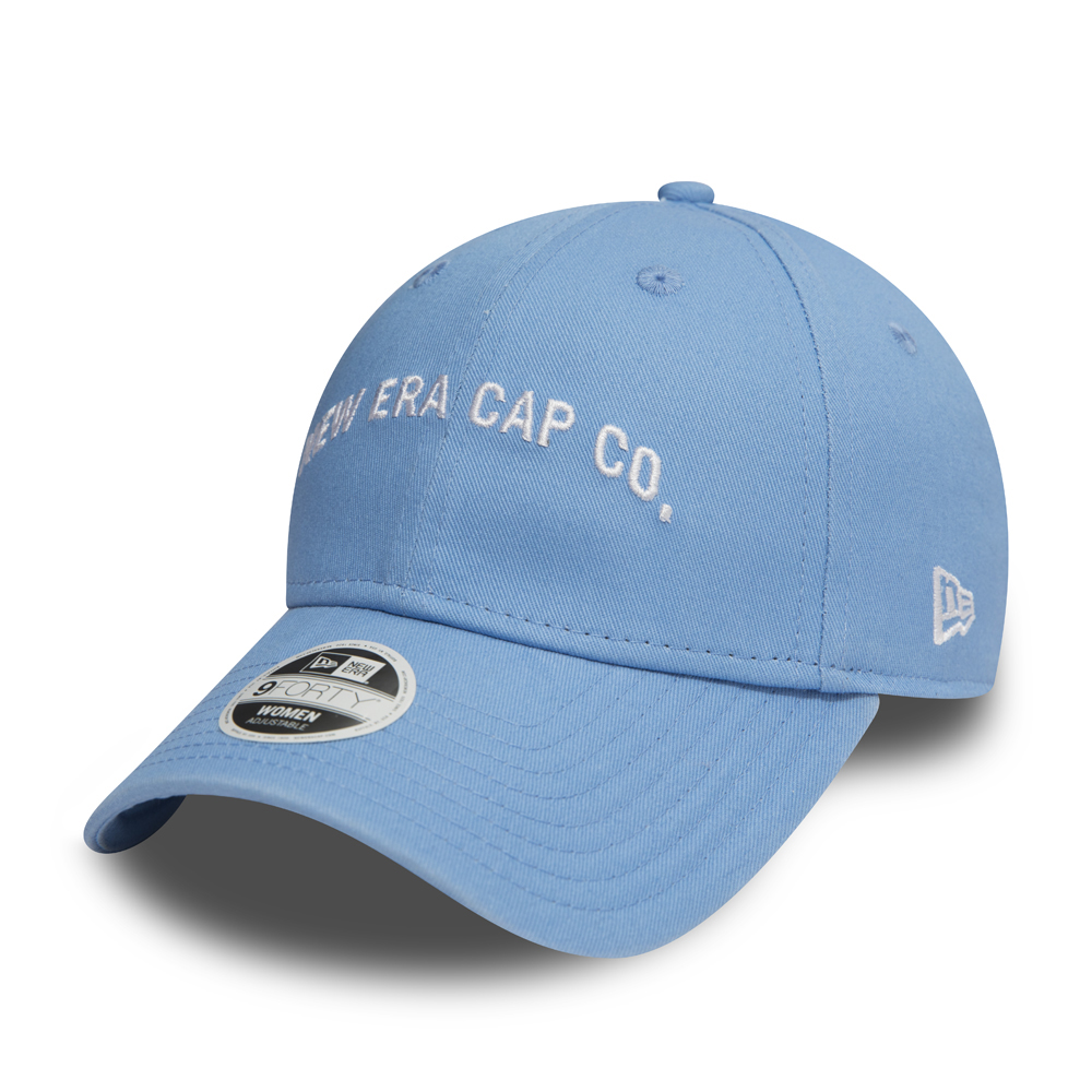 New Era Script 9FORTY mujer, azul