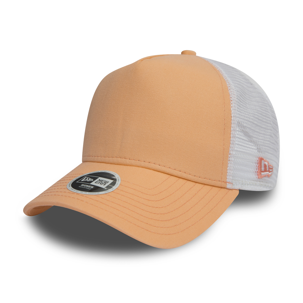 Cappellino trucker New Era Mesh Peach A Frame donna