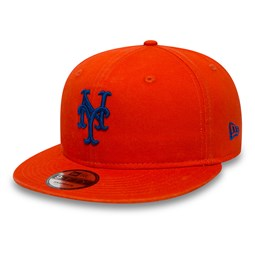097e138a372 New York Mets Washed Team 9FIFTY Snapback