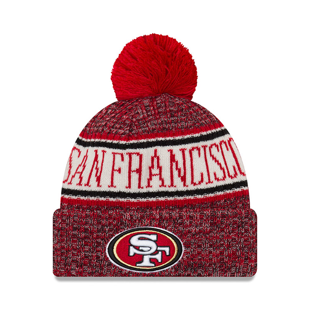 San Francisco 49ers 2018 Sideline Bobble Cuff Knit