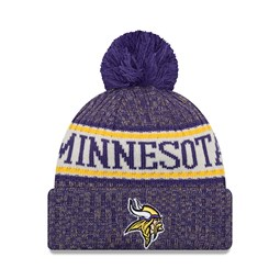 Minnesota Vikings 2018 Sideline Bobble Cuff Knit