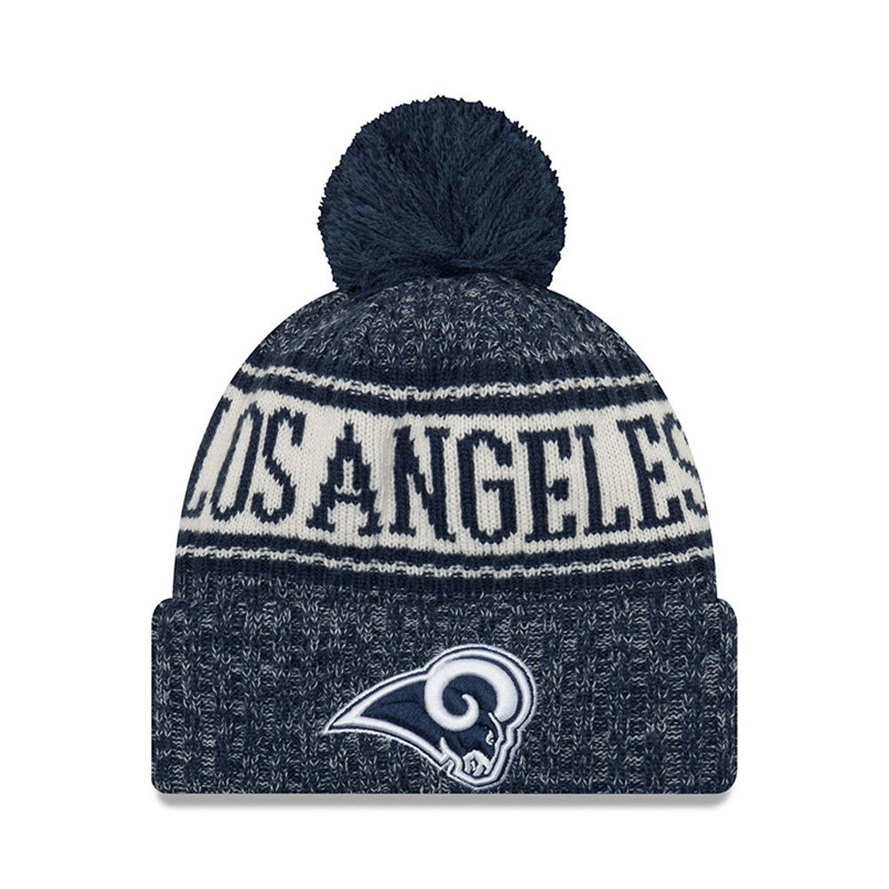 Los Angeles Rams 2018 Sideline Bobble Cuff Knit 7c5d861b866