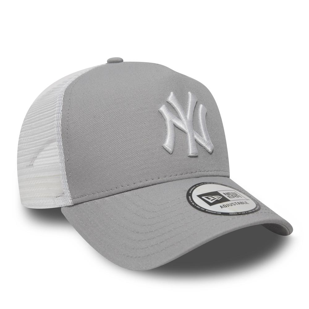 b915f8db89d26 ... gris Gorra trucker NY Yankees Clean A Frame