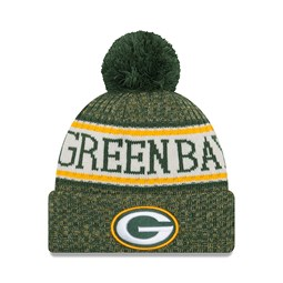 Green Bay Packers 2018 Sideline Bobble Cuff Knit
