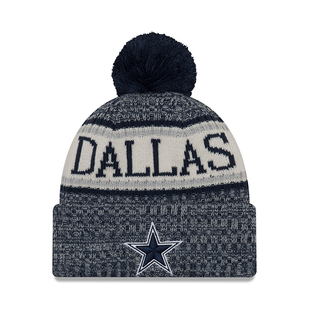 Dallas Cowboys 2018 Sideline Bobble Cuff Knit