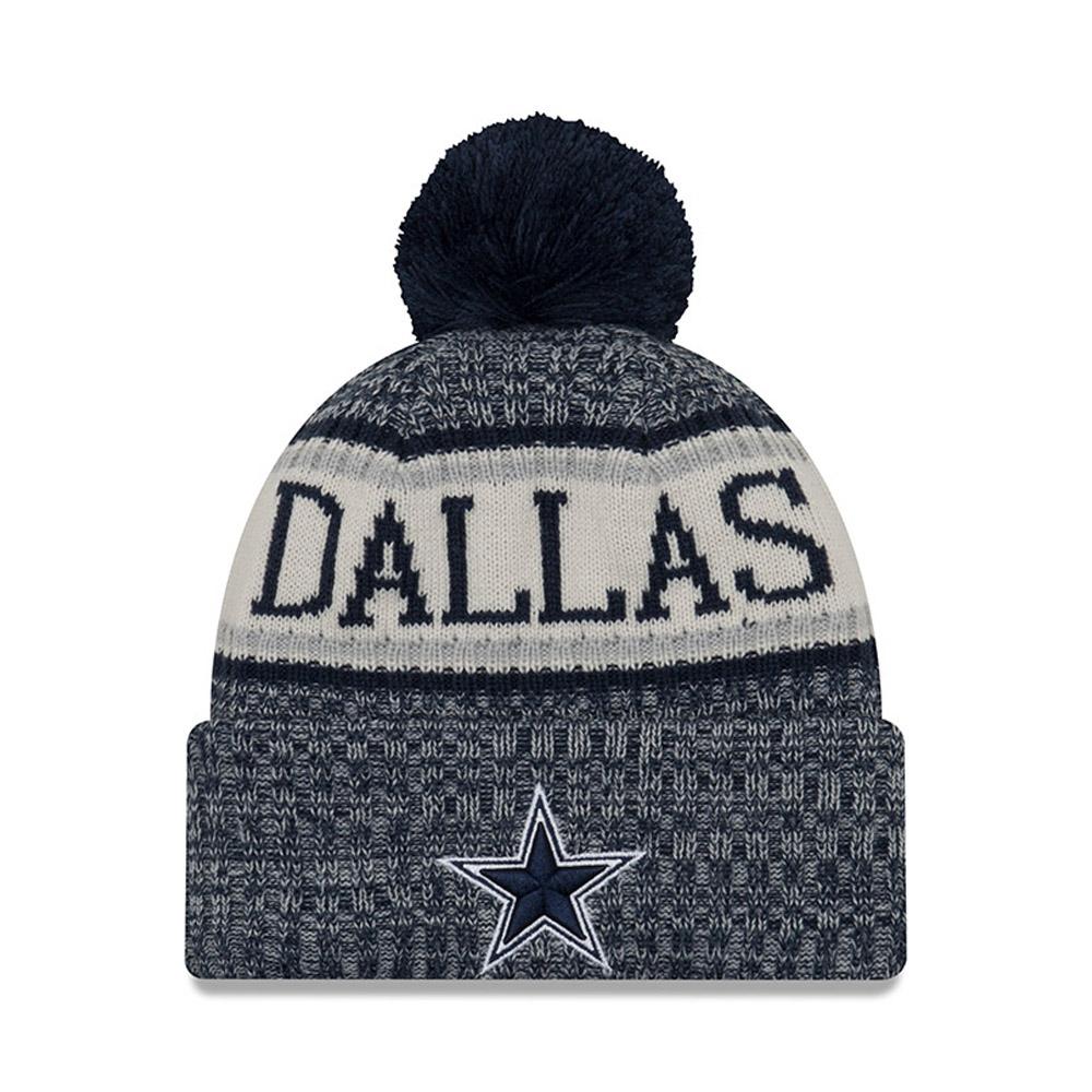 Dallas Cowboys 2018 Sideline Bobble Cuff Knit a85b44c67