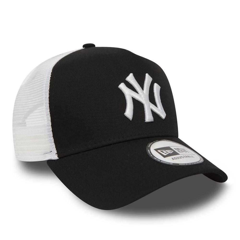 A Frame Trucker – NY Yankees Clean – Schwarz