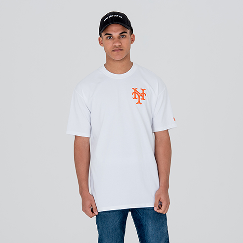 New York Giants Relocation White Tee